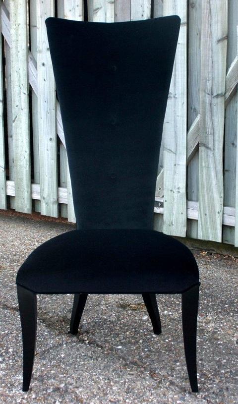 Modern High Back Chair
