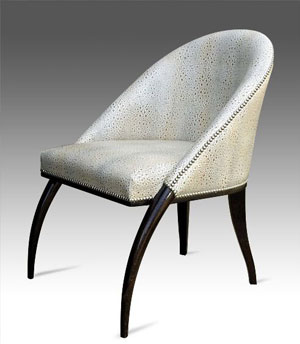 Art Deco and Modern Chairs
